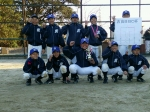 第1回吉良ベースボールクラブ杯、Aチーム優勝しました!